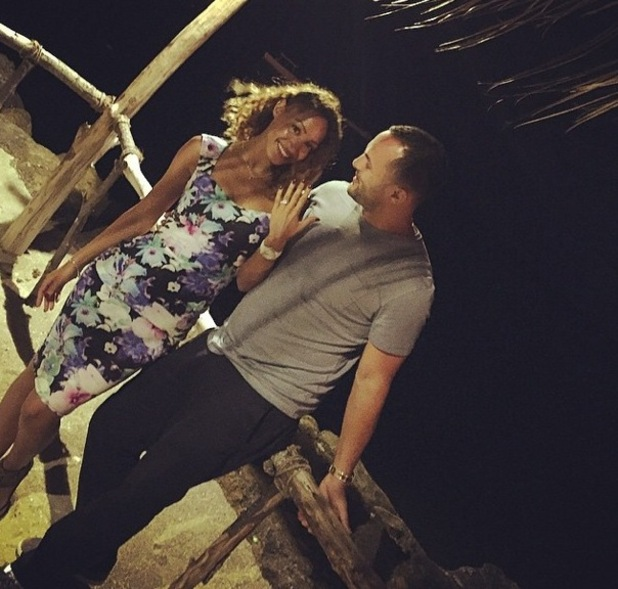 Amelle Berrabah gets engaged while holidaying in Mauritius 11 October