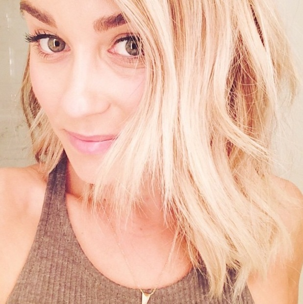 The Hills' Lauren Conrad shows off her new bob hairstyle in an Instagram picture - 22 October 2014