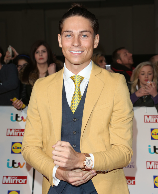 Joey Essex at the Pride of Britain Awards 2014 held at Grosvenor House hotel - Arrivals London, United Kingdom