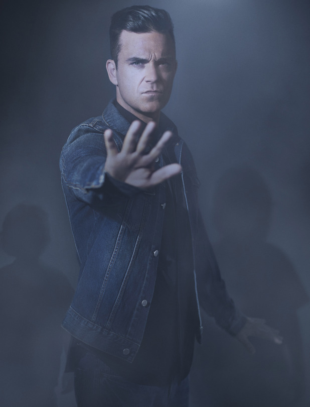 David Beckham and Robbie Williams united for Unicef campaign - 24 Oct 2014