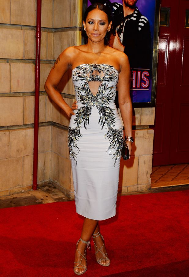 Mel B attends the launch of Memphis The Musical, London 23 October