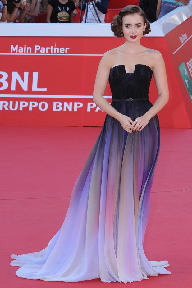 Lily Collins Dresses B...