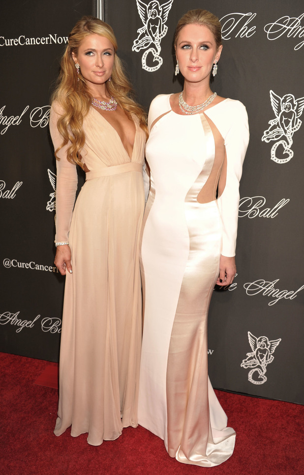 Paris Hilton and Nicky Hilton attend the Angel Ball in New York, America - 20 October 2014