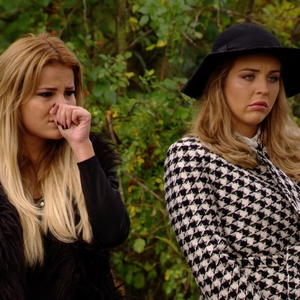The Only Way Is Essex - Georgia Kousoulou and Lydia Bright speak to a distraught Fran Parman. Airs: 29 October.