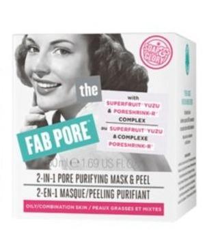 Soap & Glory Fab Pore 2-in-1 Facial Pore Purifying Mask & Peel