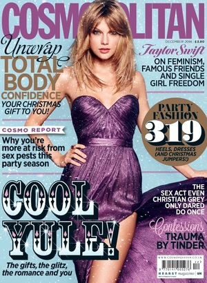 Cosmopolitan Cover for December issues, Taylor Swift
