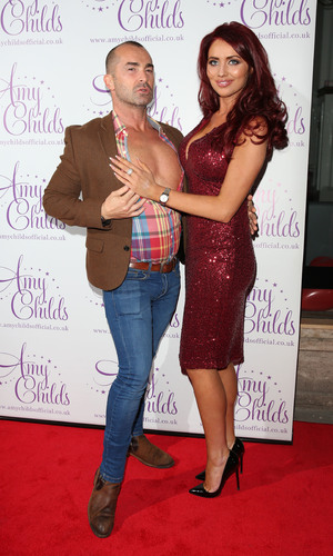 Amy Childs and Louie Spence, Amy Childs clothing collection 3rd birthday party, London 27 October