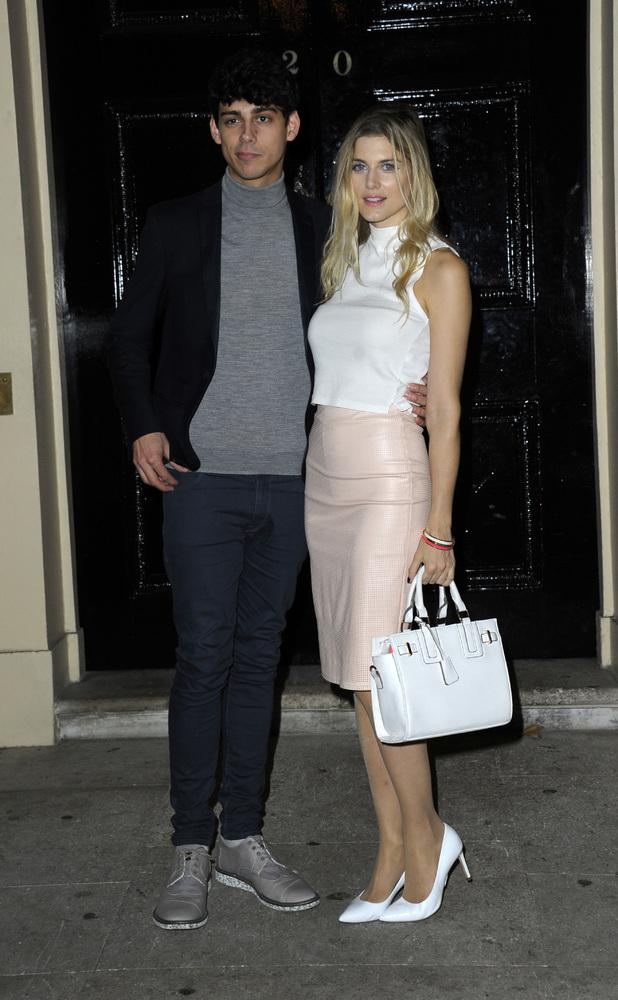 Matt Richardson, Ashley James Launch of Boux Avenue: Love Christmas held at Home House, Portman Square 27.10.2014