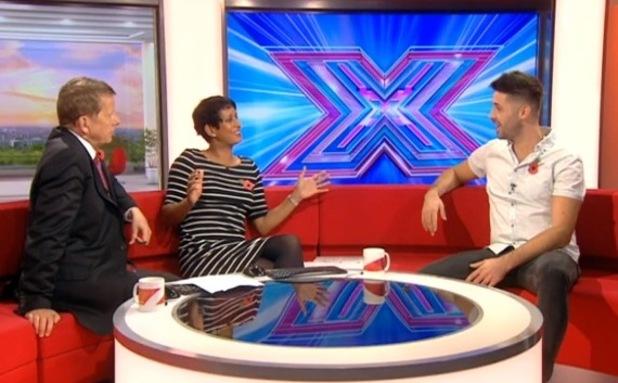X Factor's Ben Haenow speaking on BBC Breakfast - 29 October.