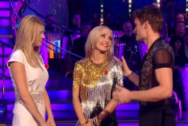 Thom Evans thanks dance partner Iveta Lukosiute on Strictly Come Dancing, BBC One 26 October