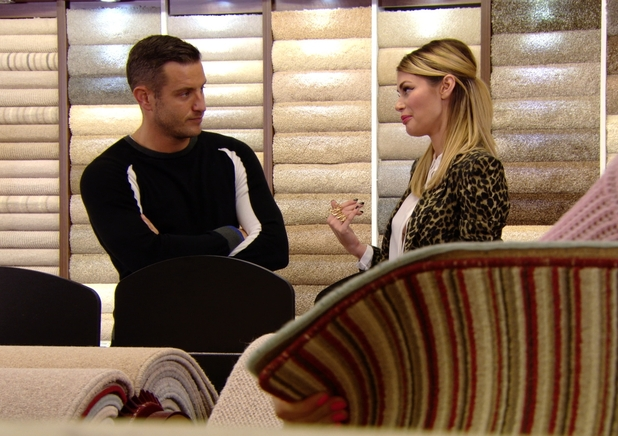 The Only Way Is Essex - Chloe Sims and Elliott Wright shopping. Airs: 29 October.