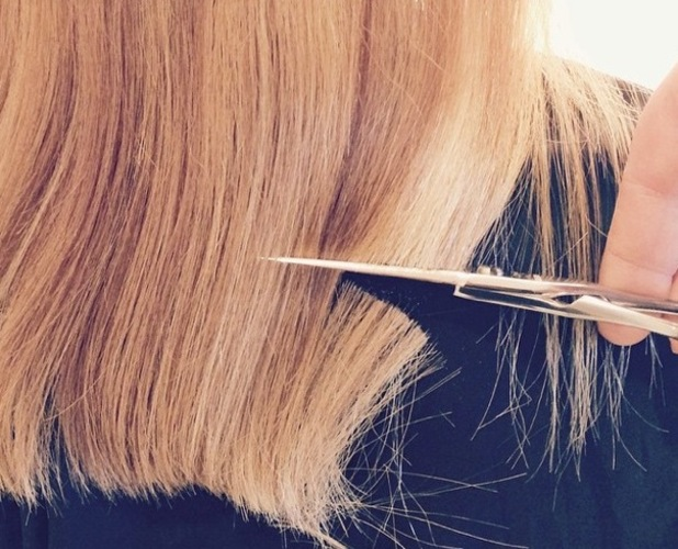Lauren Conrad posted a picture on Instagram of a second cut on 27 October 2014