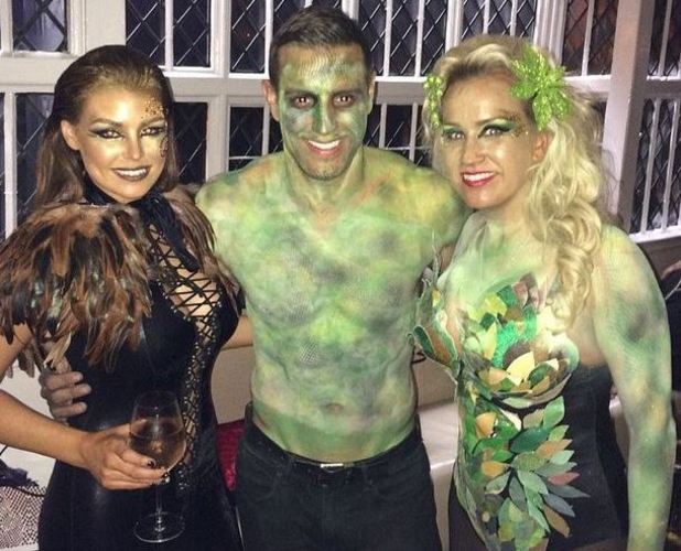 Elliott Wright, with Jess Wright and sister Leah for Halloween 30/10/2014