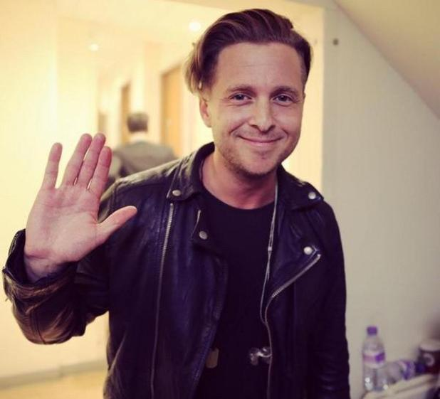 One Republic's Ryan Tedder performs on The X Factor - 26 Oct 2014
