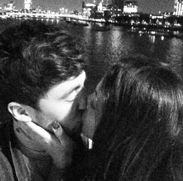 Little Mix singer Jesy cuddles up to boyfriend, Rixton vocalist Jake Roche - 1 October.