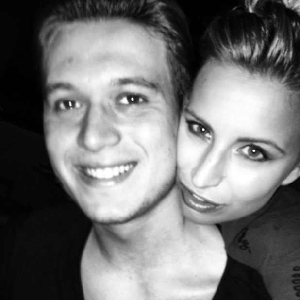 TOWIE's Charlie Sims shares throwback of himself and Ferne McCann in Dubai - 28 Oct 2014