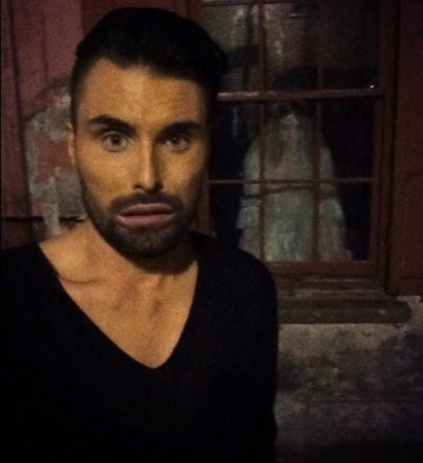 Rylan Clark at O2 Possessed, London, 28 October 2014