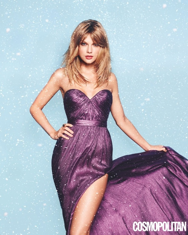 Taylor Swift as cover star for Cosmopolitan December's issue
