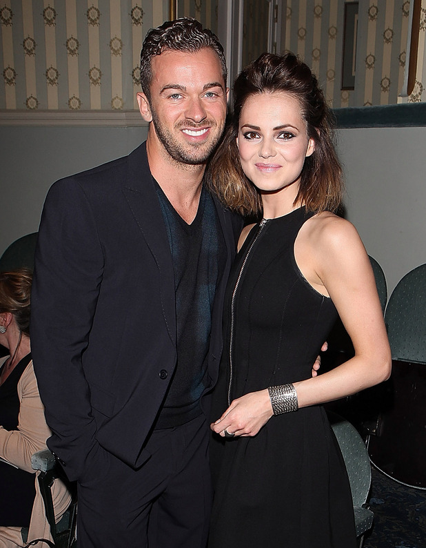 Artem Chigvintsev and Kara Tointon attend the after party following the press night of Relatively Speaking at Wyndhams Theatre on May 20, 2013 in London, England.