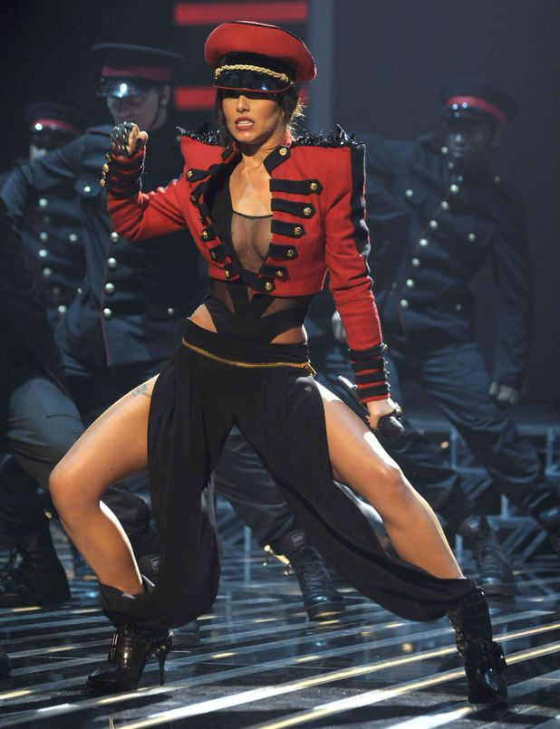'The X Factor' TV Programme - Results Show -Live, London, Britain - 18 Oct 2009 Cheryl Cole as guest performer.