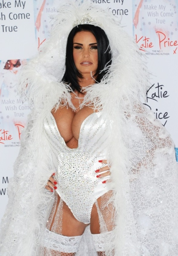 Katie Price launches her 10th novel 'May your wish come true' at the Worx - Arrivals - 22/10/14.