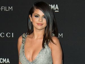 Selena Gomez at the 2014 LACMA Art + Film Gala Honouring Barbara Kruger And Quentin Tarantino. 6 November.