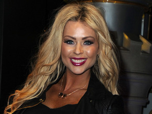 Nicola McLean at the launch of Disney Store's 'Share the Magic' Christmas charity campaign in London on 4 November.