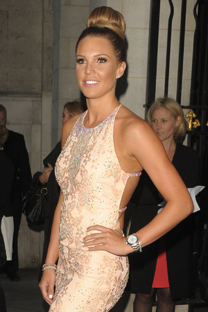 Danielle Lloyd at the Pride of Britain Awards held at Grosvenor House Hotel - 10/06/2014.