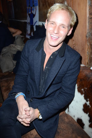 Made In Chelsea's Jamie Laing at the Skiing with Heroes Junior Committee Awareness Party, Bodos Schloss, London, Britain - 06 Nov 2014.