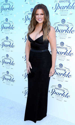 Khloe Kardashian celebrates launch of HPNOTIQ Sparkle at Mr. C Beverly Hills on November 3, 2014 in Beverly Hills, California.