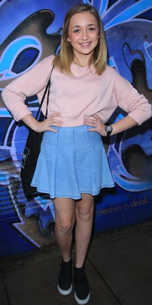 Lauren Platt - X Factor final contestants arrive at music studio rehearsals - 3 November 2014