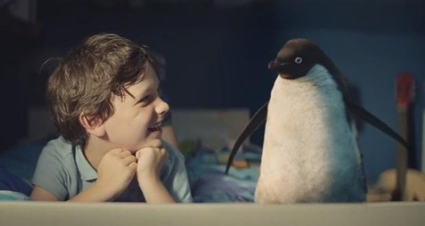 John Lewis Christmas advert 2014: Monty The Penguin 6 November
