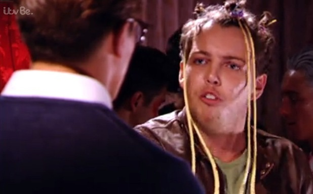 Lewis Bloor and James Diags Bennewith argue, TOWIE 2 November