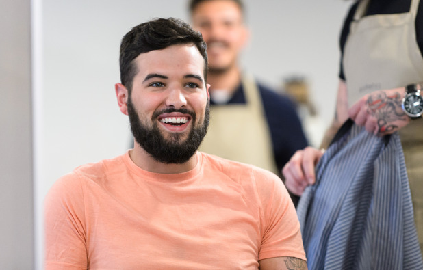 Ricky Rayment all smiles after split, TOWIE 5 November