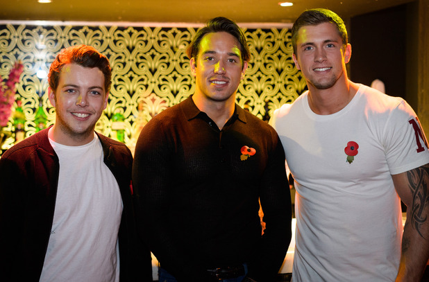 The Only Way is Essex' cast filming, 'Boys Night Out', Britain - 05 Nov 2014 VIP lounge, Seen, Essex.
