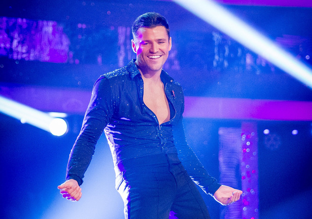 Strictly Come Dancing - Mark Wright on the live shows. 25/10/2014.