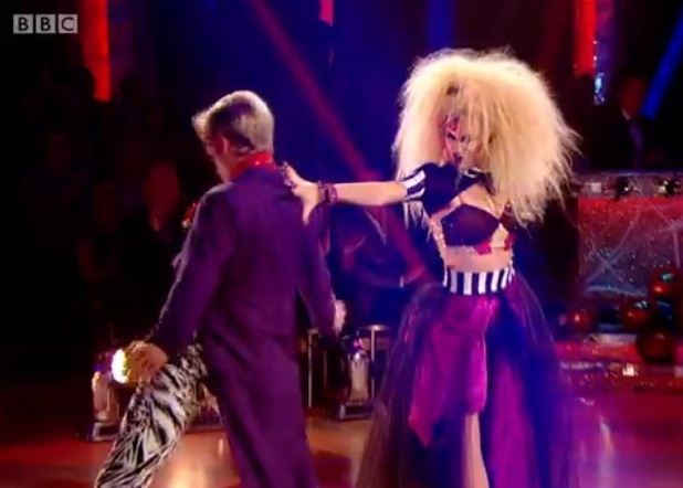 Pixie Lott performs the Tango on Strictly Come Dancing, BBC One 1 November