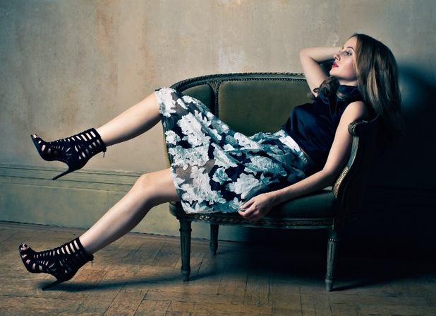 MIC's Rosie Fortescue models her new clothing collection for Lipstick Boutique - 4 November 2014