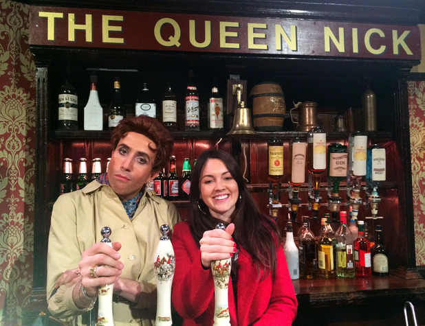 Sweat the Small Stuff Transmission Date: 05/11/2014 - Nick Grimshaw as Eastender's Dot Cotton