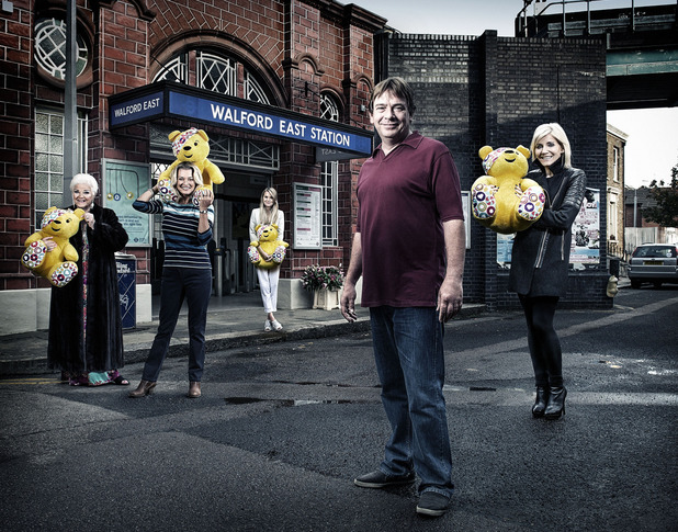 EastEnders BBC Children In Need sketch - The Ghosts of Ian Beale - 14 November 2014.
