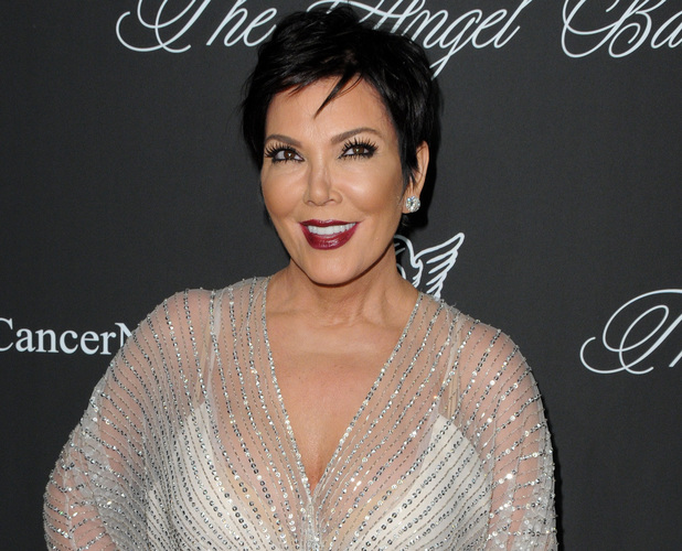 Kris Jenner arriving at the Gabrielle's Angel Foundation Hosts Angel Ball 4 November.
