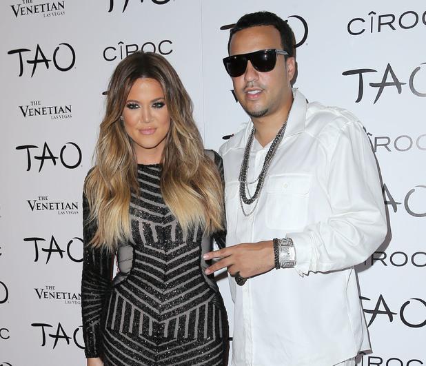 Khloe Kardashian celebrates her 30th birthday at TAO nightclub. 5 November.