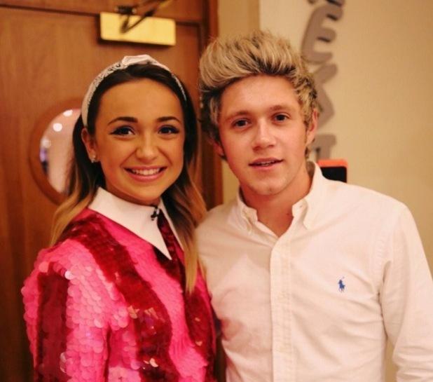 Lauren Platt meets One Direction's Niall Horan, X Factor 11 October