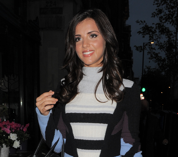 Lucy Mecklenburgh out in London 15 October