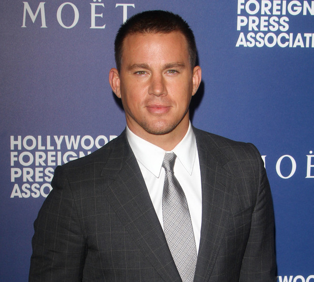 Channing Tatum at the The Hollywood Foreign Press Association Installation Dinner. 6 November.