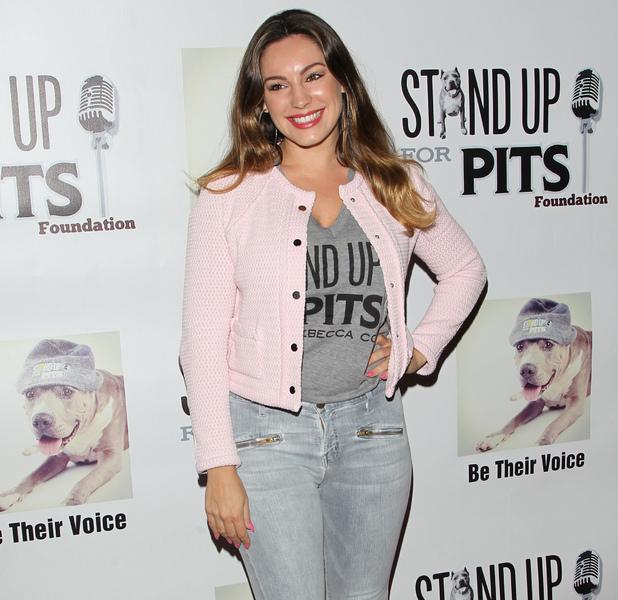Kelly Brook at Hollywood event on 3 November.