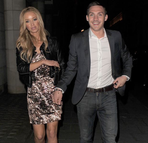 Lauren Pope and Kirk Norcross pictured on a date in 2011.