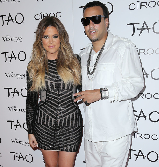 Khloe Kardashian celebrates her 30th birthday at TAO nightclub. 5 November.