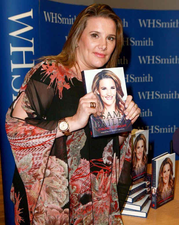 X Factor star Sam Bailey 'Daring to Dream' book signing, WH Smith, Leicester, Britain - 06 Nov 2014.