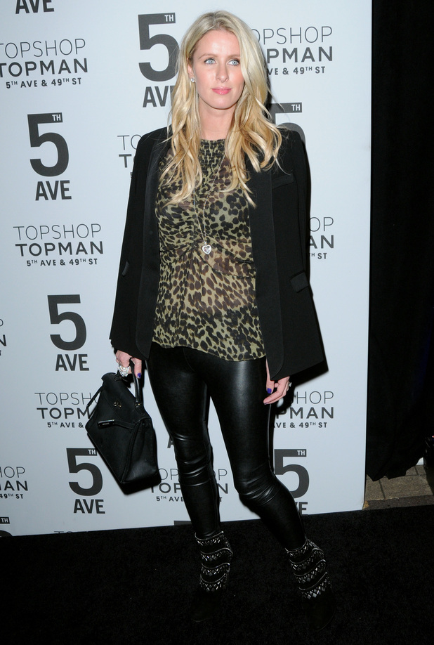 Nicky Hilton attends a dinner to celebrate the opening of Topshop's new store on Fifth Avenue in New York - 4 November 2014